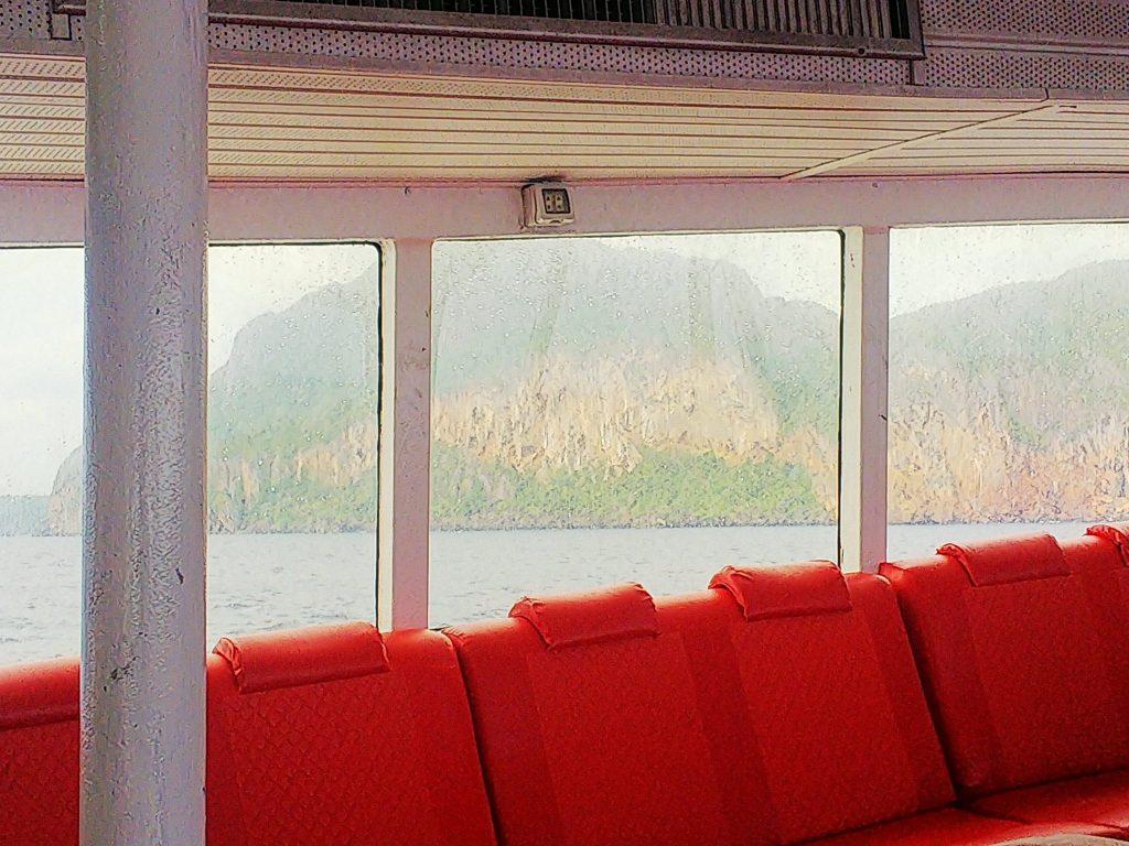 ピピ島へのフェリーのファーストクラスの座席2