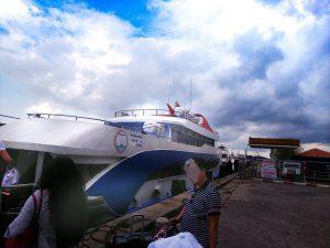 ピピ島へのアンダマンウェーブ社のフェリー