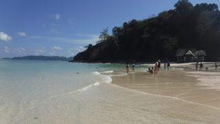 バンブー島のビーチ1