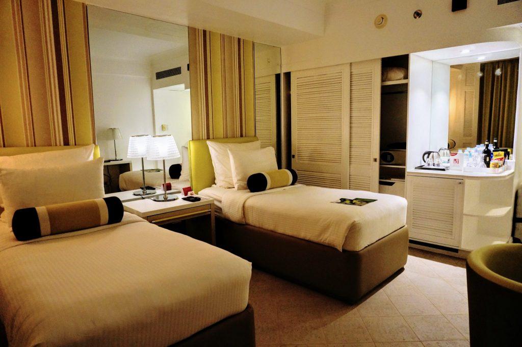 モーベンピックホテルの部屋1