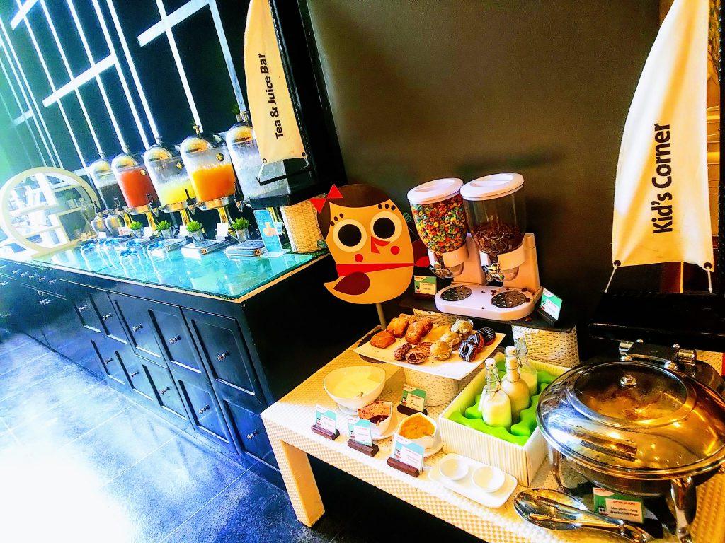 モーベンピックホテルの朝食バイキング7