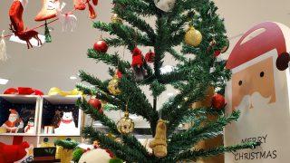 3coinsクリスマスツリー120cm緑