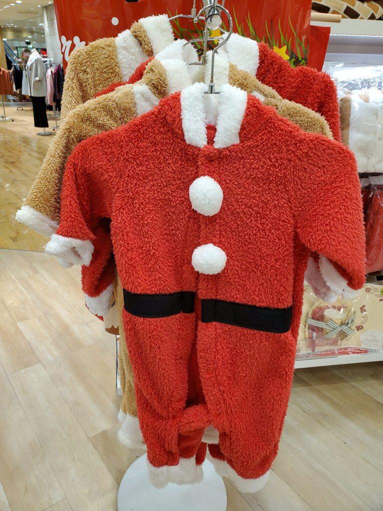 3coins子供用サンタ衣装